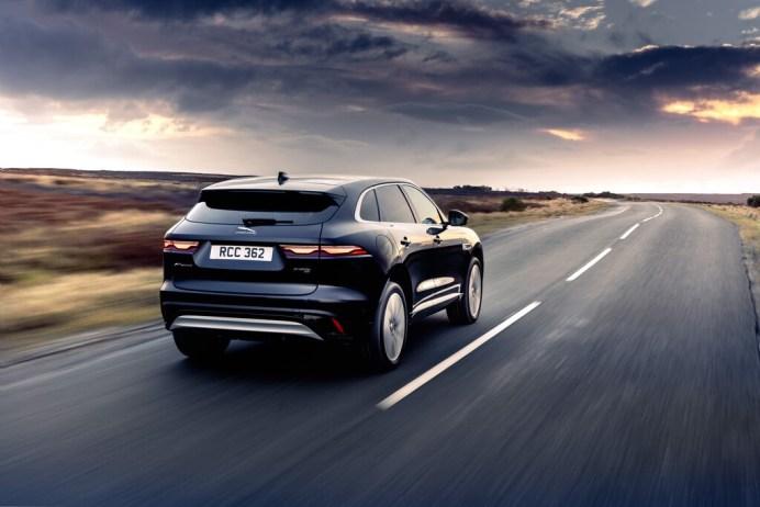 Kräftig, aber nicht grob: das Heck des neuen Jaguar F-Pace. © Jaguar