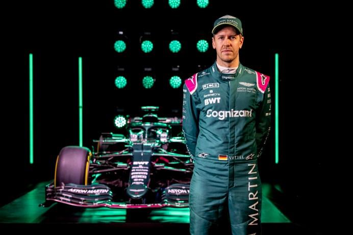 Neustart: Sebastian Vettel fährt 2021 für Aston Martin. © Aston Martin