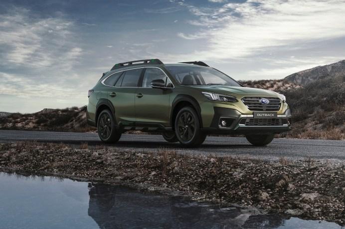 """Zum Start der sechsten Modellgeneration gibt es vom Subaru Outback eine limitierte """"Edition Trend 40"""". © Subaru"""