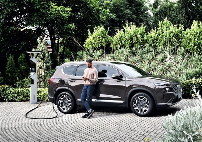 Hyundai Santa Fe Plug-in-Hybrid. Foto: Auto-Medienportal.Net/Hyundai
