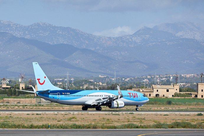 Mallorca bereitet sich auf Urlauber vor. Flugangebot zu den Osterferien wird um 160 Flüge verdoppelt. Foto: TUI