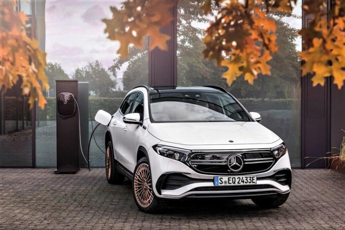 Mercedes-Benz EQA. Foto: Auto-Medienportal.Net/Daimler