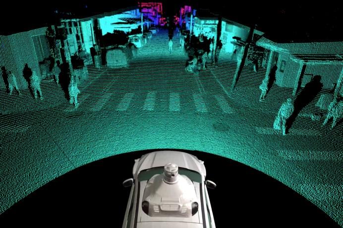 Mit der Lidar-Technik von Argo AI können Objekte in bis zu 400 Meter Entfernung erkannt werden. © VWN