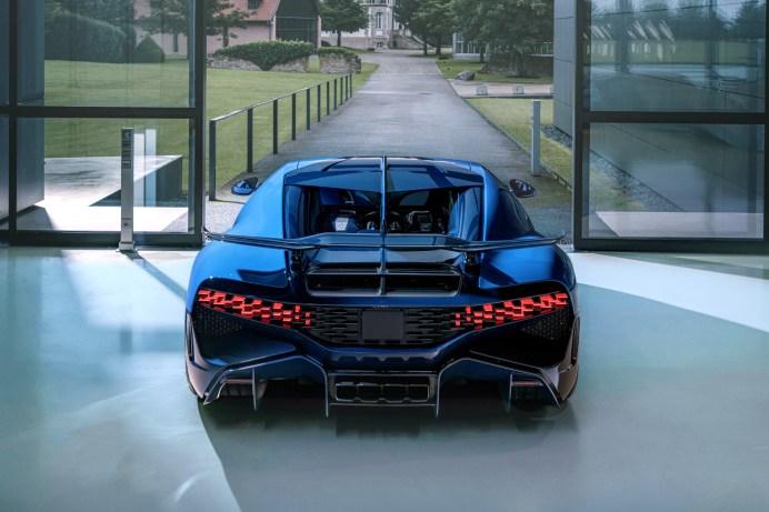 Kraftprotz: 1.500 Pferdestärken generiert der 16-Zylinder-Motor mit acht Litern Hubraum © Bugatti