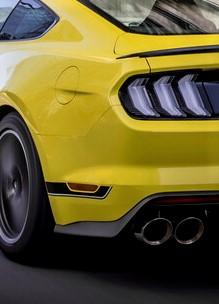 ...als auch beim Mach 1. . © Ford