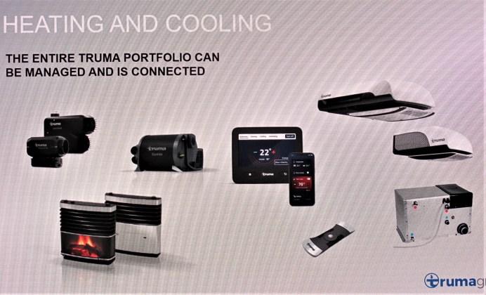 Das komplette Truma-Angebot lässt sich per Truma i-Net X steuern. © Karl Seiler