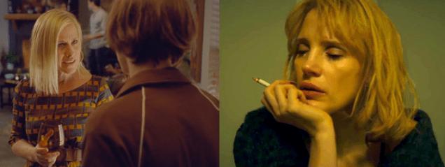 Arquette Boyhood Chastain a most voilent year