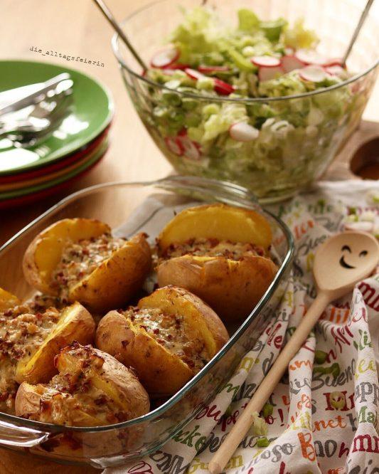 KOCHQUICKIE No. 2 * gefüllte Ofenkartoffeln *