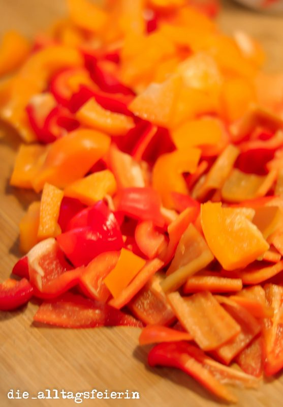 Paprika, Pizzasuppe, Suppe, Partyrezept
