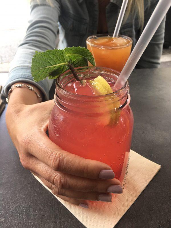 Wochenglückrückblick, Limonade, homemade lemonade