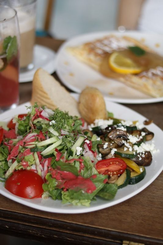 Salat, veggie, wunschlos glücklich, Auszeit, Würzburg, wochenglueckrueckblick-060817