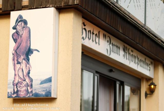 Hochrhöner, Wanderlust, wandern, Rhön, Dermsbach, Hotel zum Rhönpaulus,