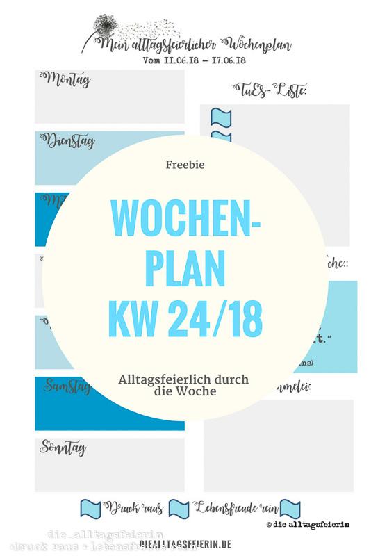 Speiseplan KW 24-18 * Köln is calling *