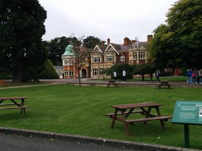 The mansion in Bletchley Park Photo: Petra Breunig