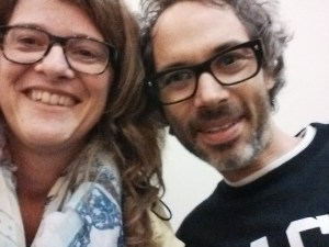 I met James Rhodes in September 2015 after a talk at The Guardians' and asked for a selfie. Photo: Petra Breunig
