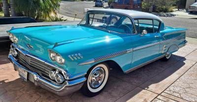 1958 Chevrolet Impala Sport Coupe 28