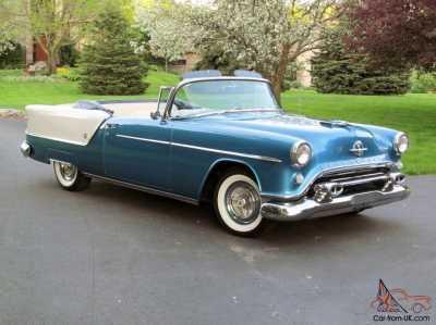 1954 Oldsmobile Super 88 Convertible 4