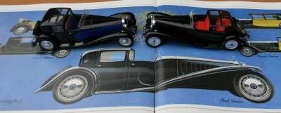 Bugatti Royale Chassis 41100 Ixo and Solido
