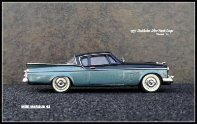 1957 Studebaker Silver Hawk 5
