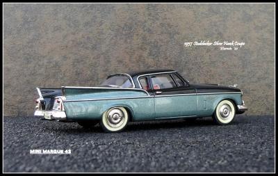 1957 Studebaker Silver Hawk 7