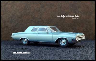 1964 Dodge 330 2dr Sedan 1