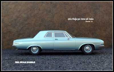 1964 Dodge 330 2dr Sedan 5