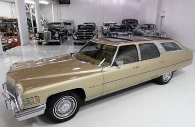 1976 Cadillac Castilion FW Estate Wagon Dean Martin 69900 Schmitt