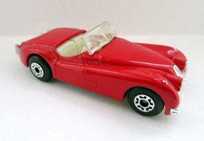 Jaguar XK120 (1994 MotorCity   Red)