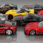 Casting Profile Ferrari 599xx Orange Track Diecast