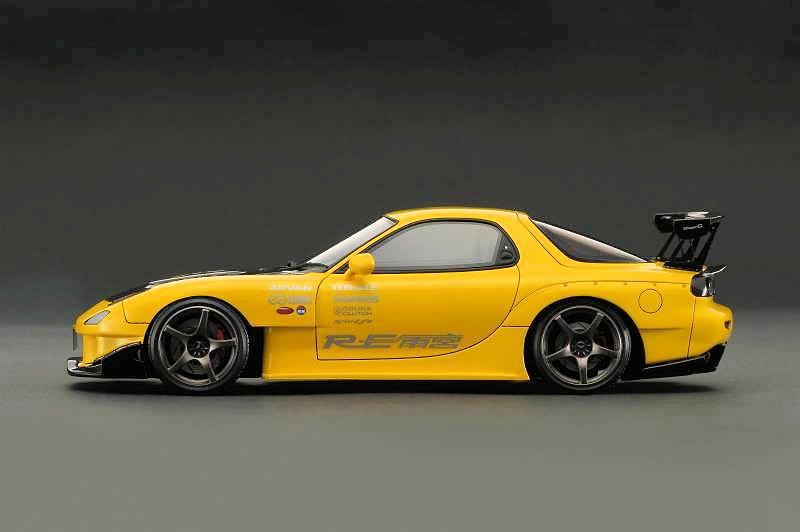 Kit Rx Mazda Yellow 7 Body