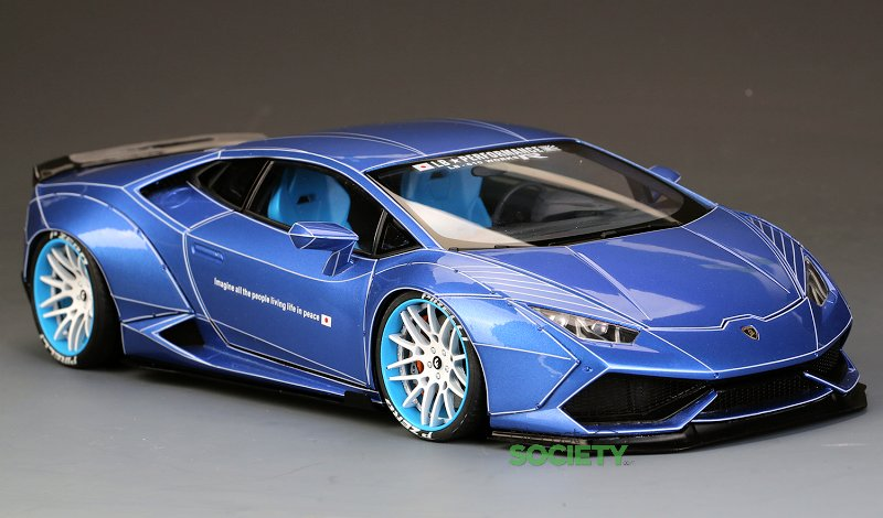 Auto-Customed Model LB Lamborghini Huracan - Blue ...
