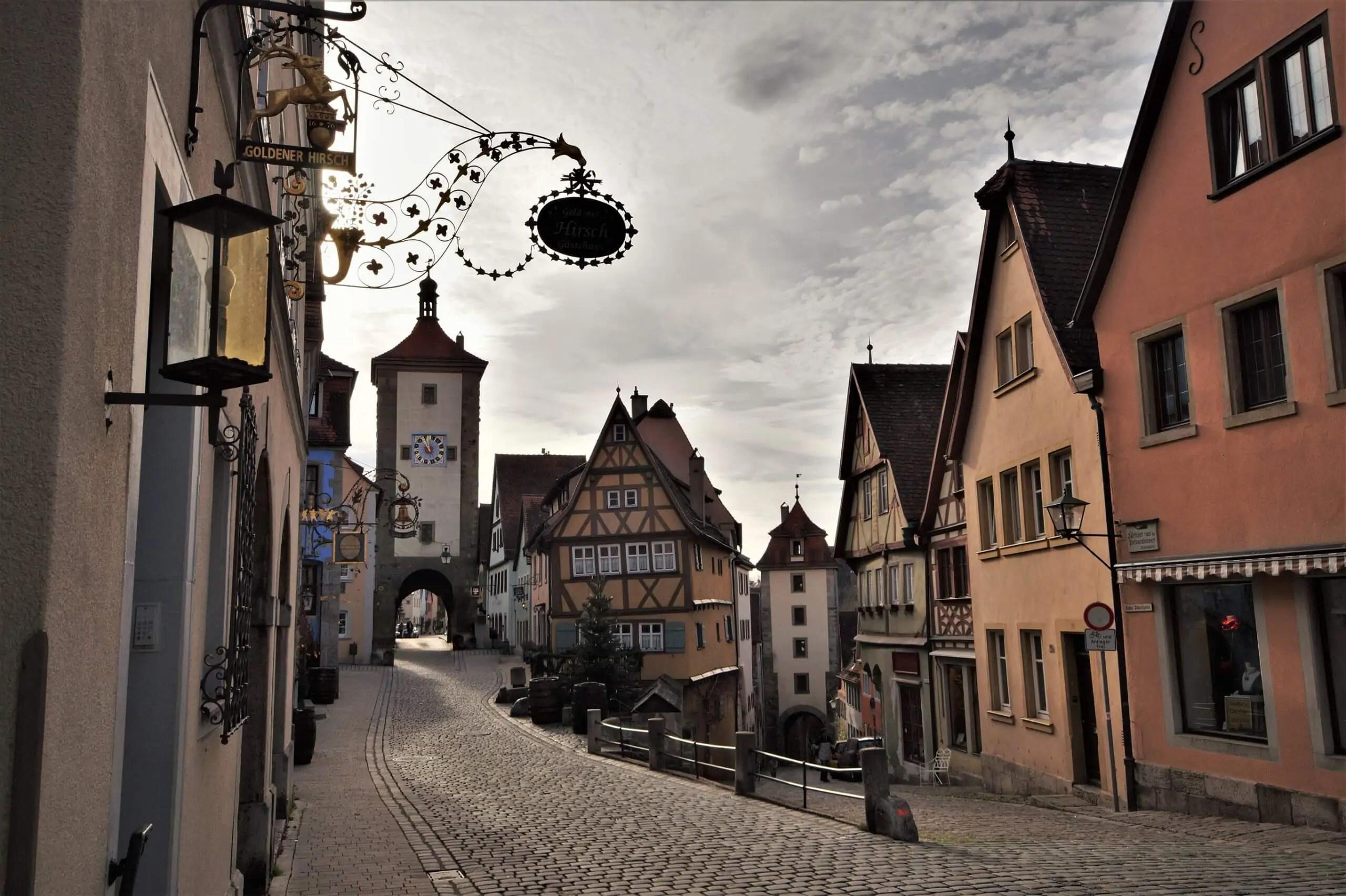 Rothenburg ob der Tauber – Ein Tagesausflug ins Mittelalter