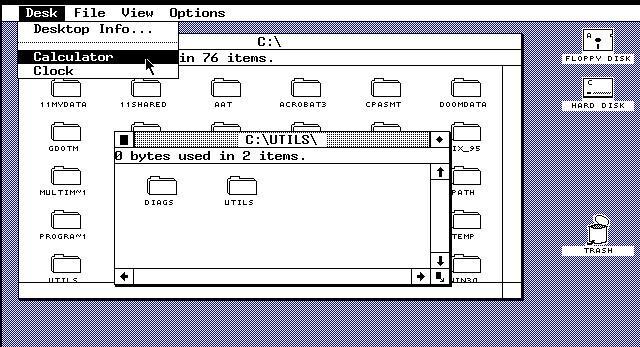 GEM - grafisches Betriebssystem
