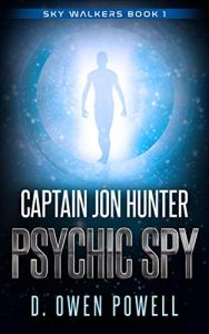 Captain Jon Hunter Psychic Spy - book cover.