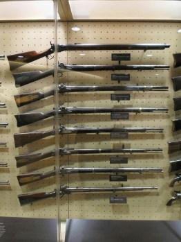 Waffen aus der Zeit des Bürgerkrieges