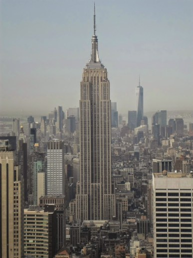 Empire State Building vom Top of the Rocks