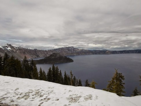 Am Crater Lake