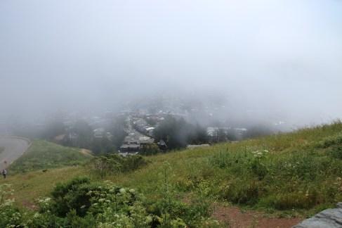 Nebel auf Twin Peaks