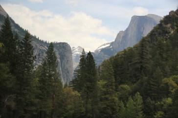 Die Massiven Granitformationen um das Yosemite Tal
