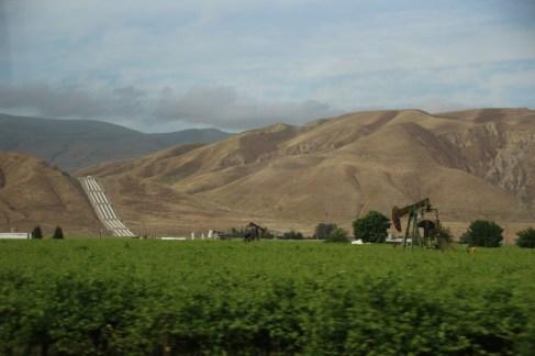 Wasserleitung zur Versorgung der Felder