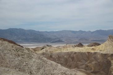 Blick von Zabriskie Point ins Death Valley