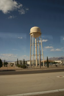 Wasserturm an der Air Force Base