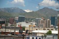 Erster Blick auf Salt Lake City