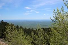 Das Land öffnet sich nach den Bighorn Mountains