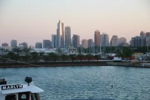 Blick vom Navy Pier