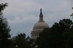 erste Sichtung vom Capitol