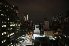 Blick aus meinem Zimmerfenster im 12.Stock Richtung Westen