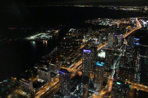 Blick vom CN-Tower Richtung Guelph