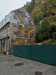 Ein weiteres Wandgemälde in Quebec