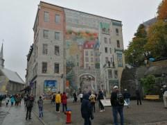 Wandgemälde in Quebec